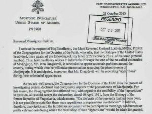 Papa Francesco ordina ai vescovi di non parlare coi veggenti di Medjugorje.