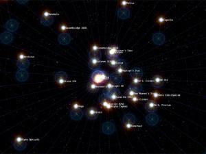 Con Chrome si viaggia tra le stelle dell'universo.