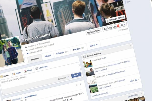 Facebook, ecco la nuova TimeLine, presto anche in Italia.