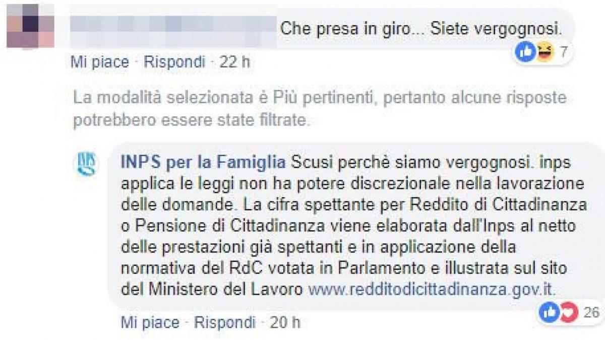 Reddito Cittadinanza Troppo Basso E Il Social Manager Dell