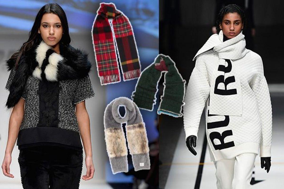 6 Modi Originali Per Indossare La Sciarpa Questinverno