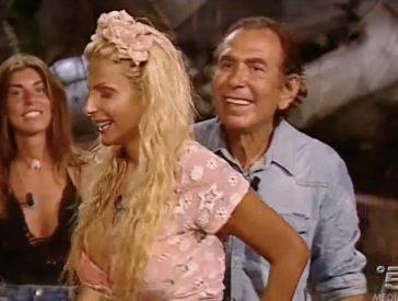 """Quando Francesca Cipriani ha """"rotto una costola"""" a Giucas Casella all'Isola dei Famosi"""