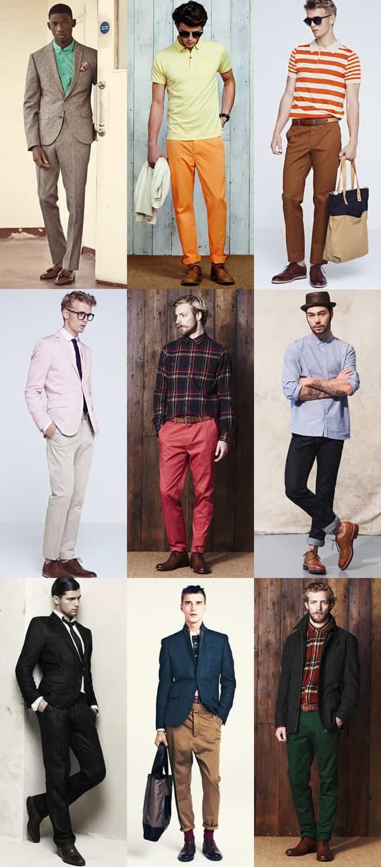 Mens Brown Shoes Lookbook