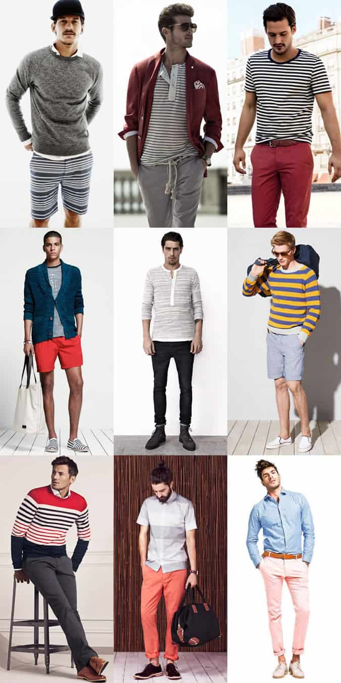 Men's Stripes Lookbook