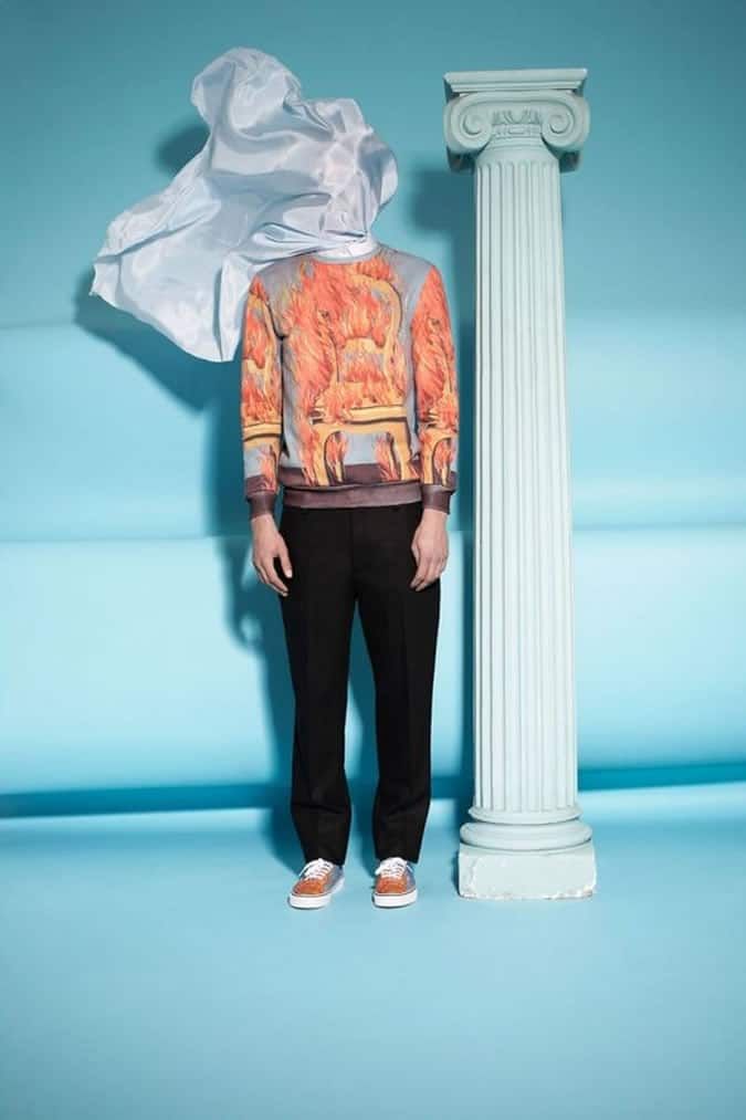 Opening Ceremony X Ren Magritte Clothing FashionBeans
