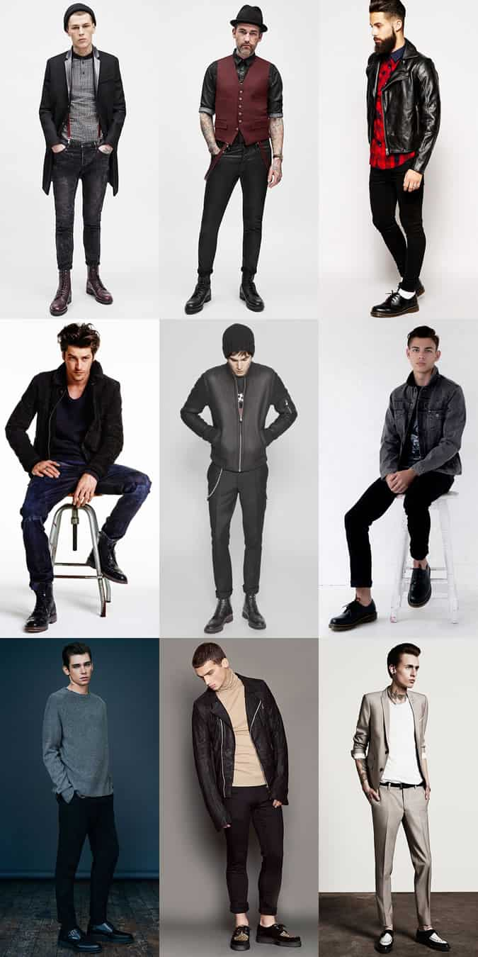 Rock Style Clothing For Men