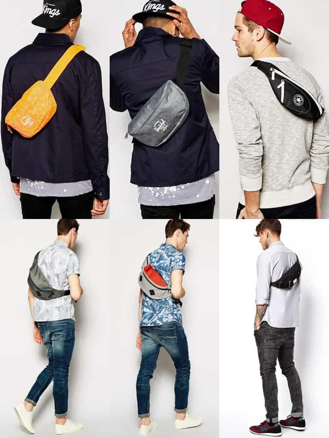 Men's Bum Bags Outfit Inspiration Lookbook