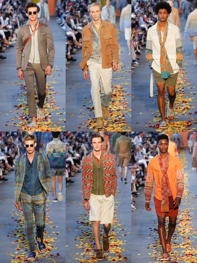 Défilés SS16 pour vêtements pour hommes