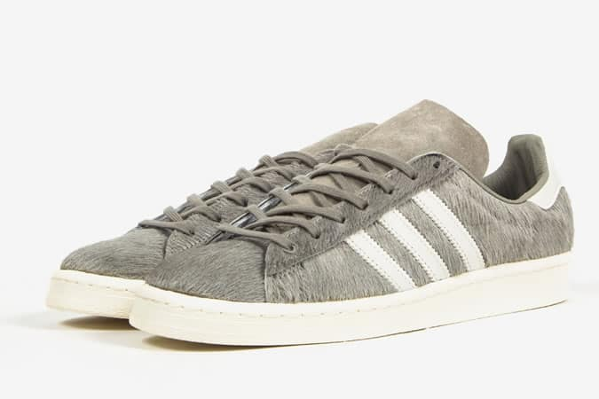 Adidas Campus 80s Pony Hair Trainers