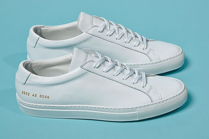Common Projects Achilles - Baskets basses blanches