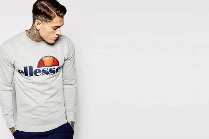 Sweat-shirt Ellesse avec logo classique