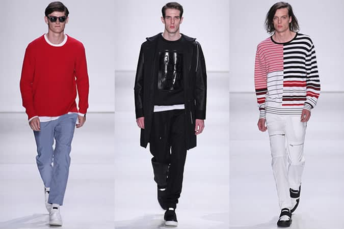 Podiums pour hommes Ovadia & Sons SS16 - New York Fashion Week