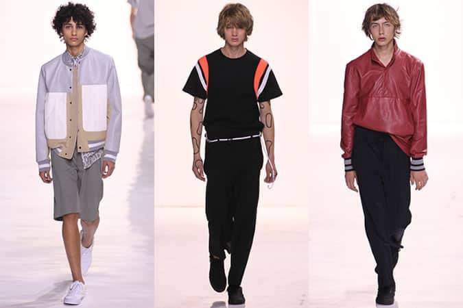 Tim Coppens SS16 Menswear Runways - Semaine de la mode de New York