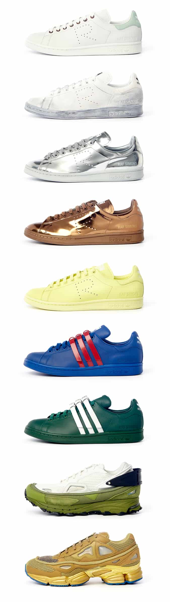Adidas x Raf Simons Spring/Summer 2016 Collection
