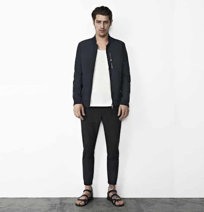 Sandales pour hommes avec des pièces de sport de luxe - Look Outfit Inspiration