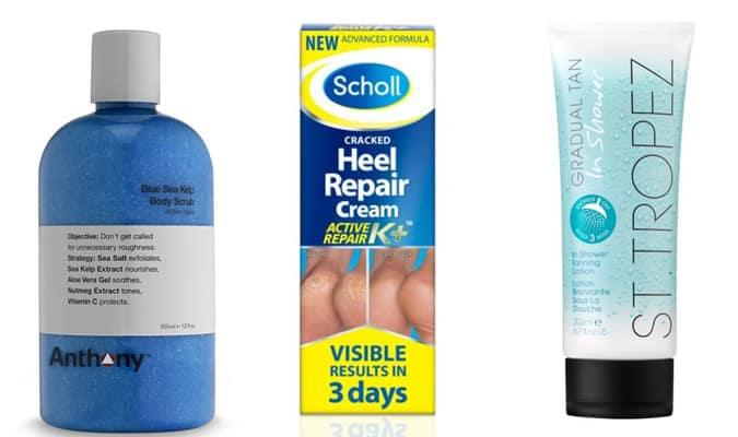 Produits de soins des pieds et des jambes pour hommes
