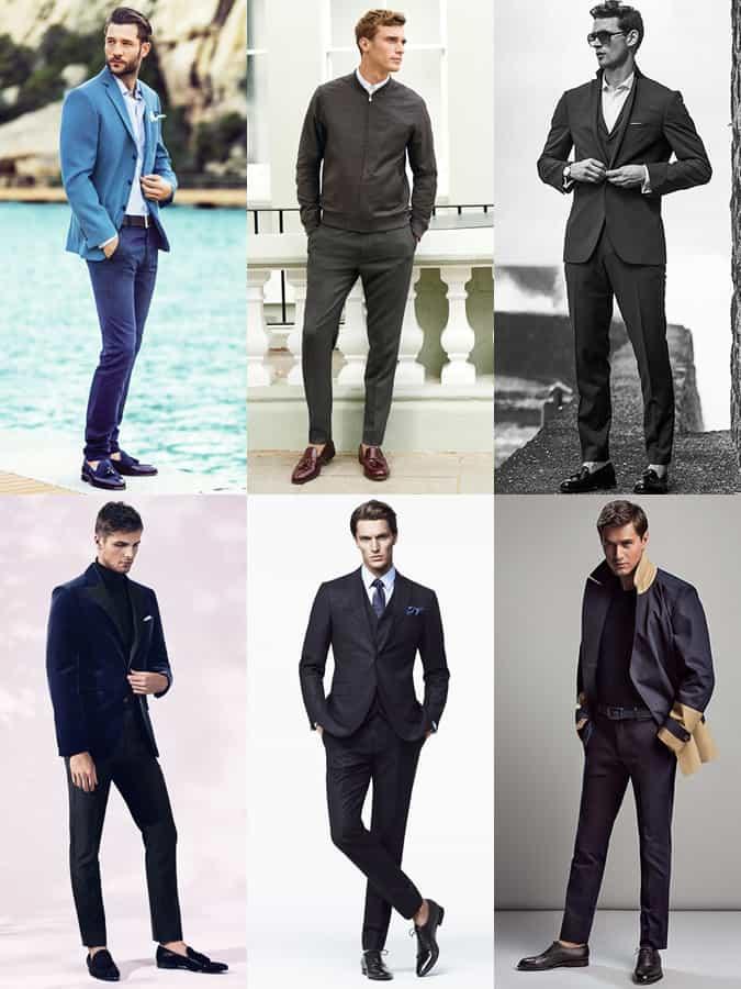 Looks sans chaussettes pour hommes avec un look minimaliste