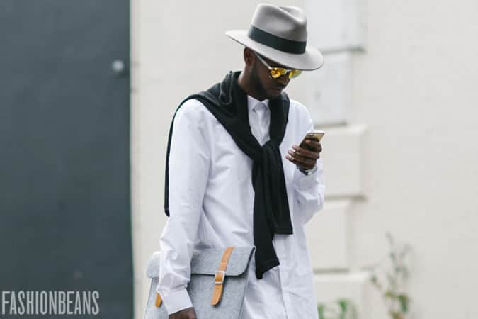 Men's SS16 Street Style Trends - Coloured Lens Sunglasses