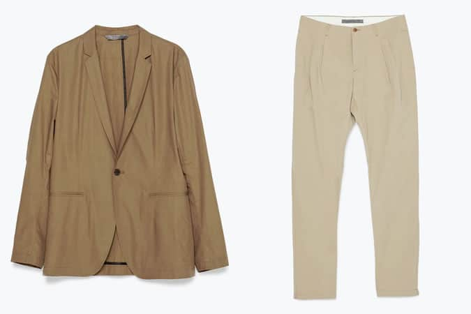 Blazer et pantalon Zara