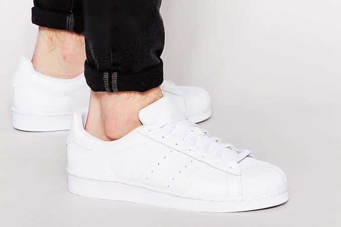 Adidas Superstar Baskets blanches