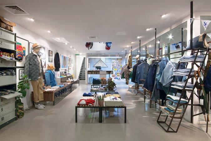 Couverture & The Garbstore Store, Kensington Park Road, Londres