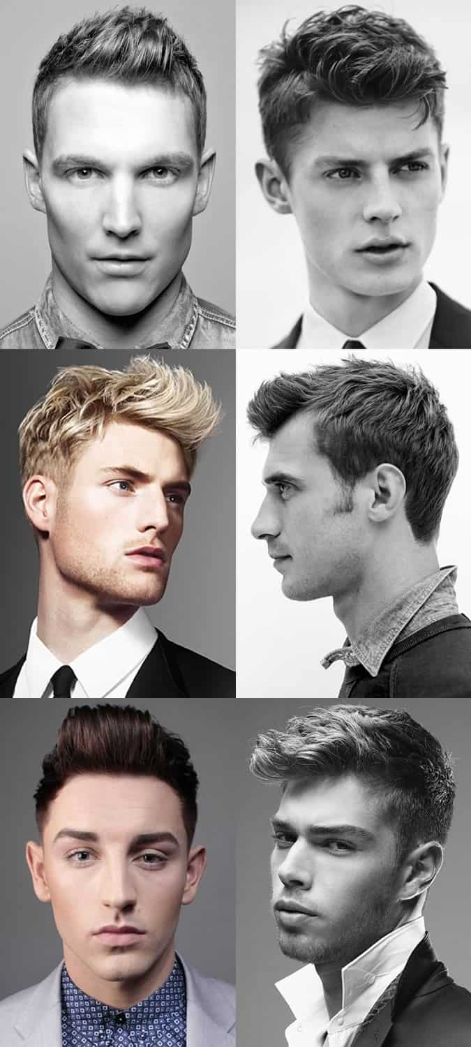 Men's Short Back and Sides Hairstyles - The Fauxhawk
