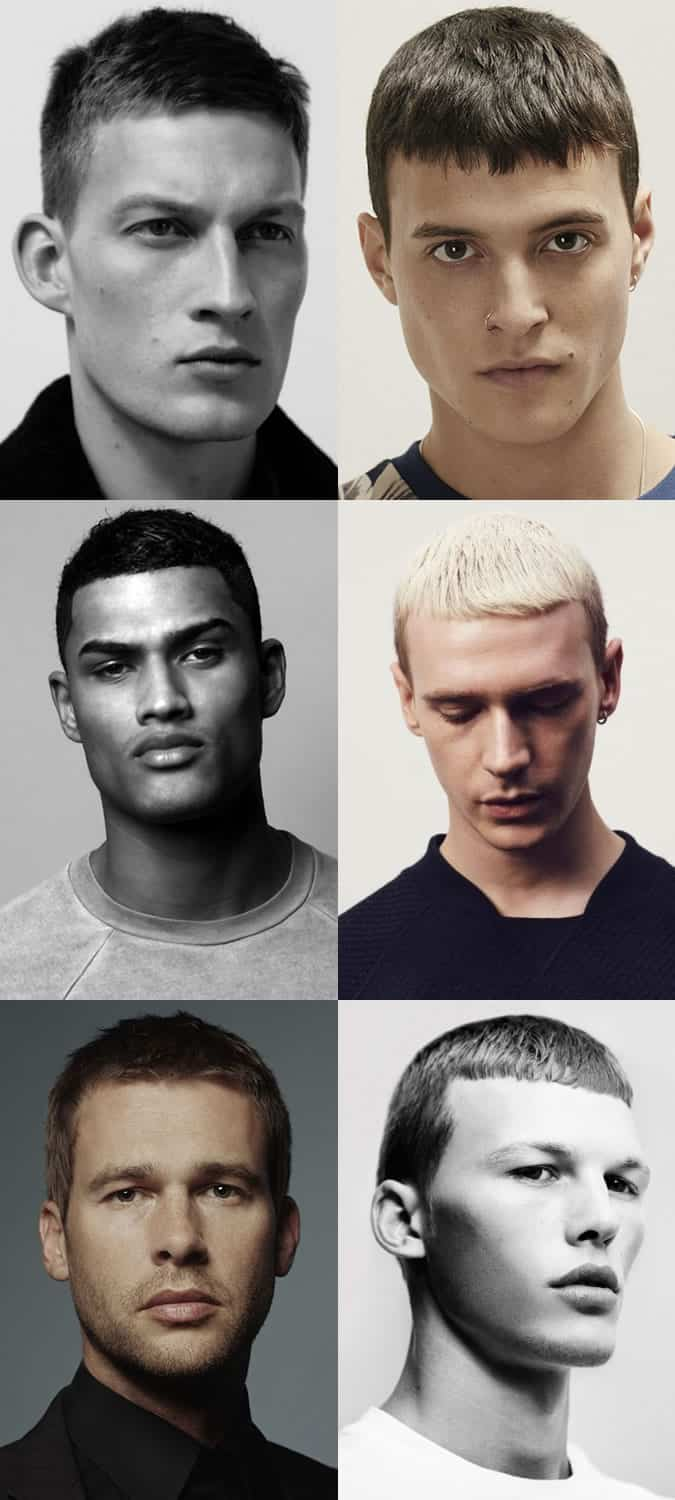 Men's Short Back and Sides Hairstyles - The French Crop