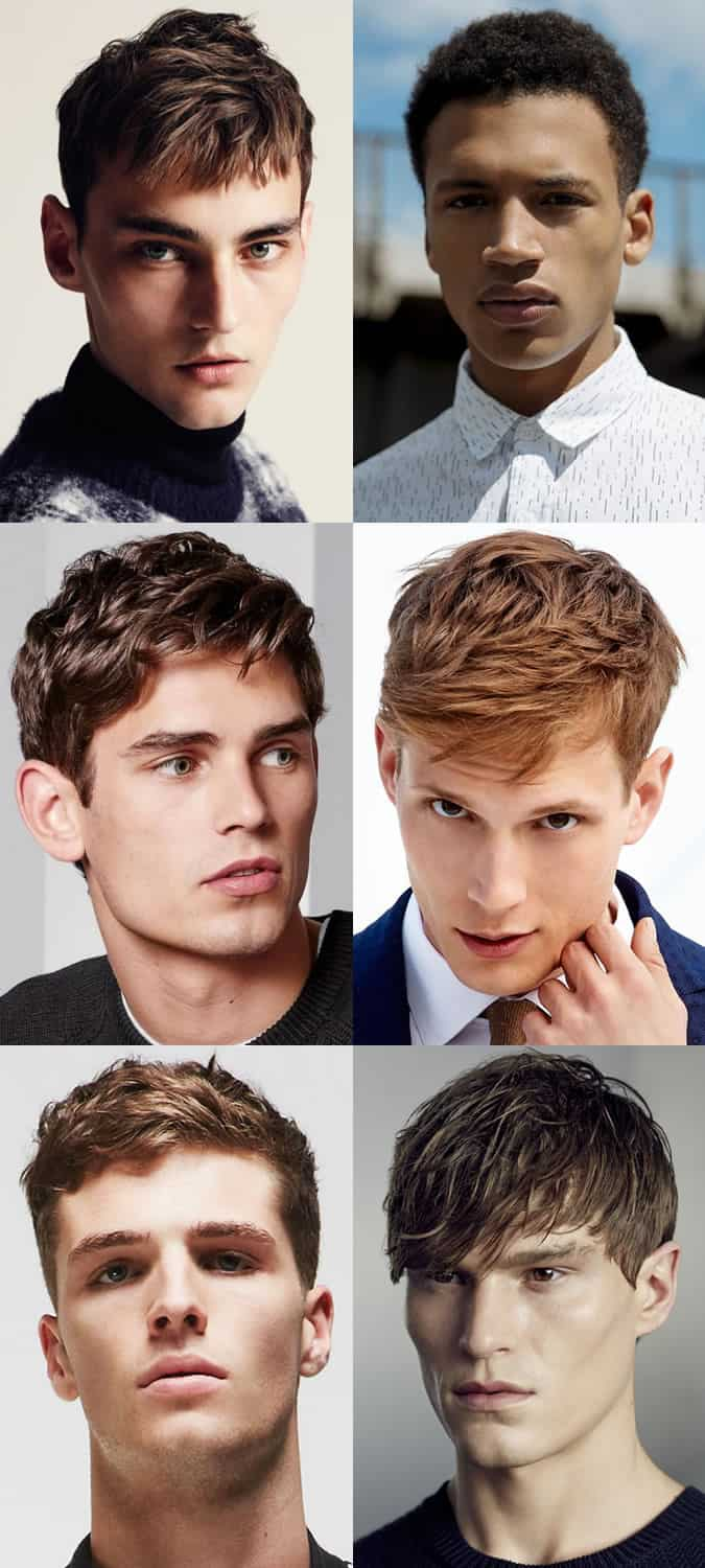 Men's Short Back and Sides Hairstyles - Textured And Undone