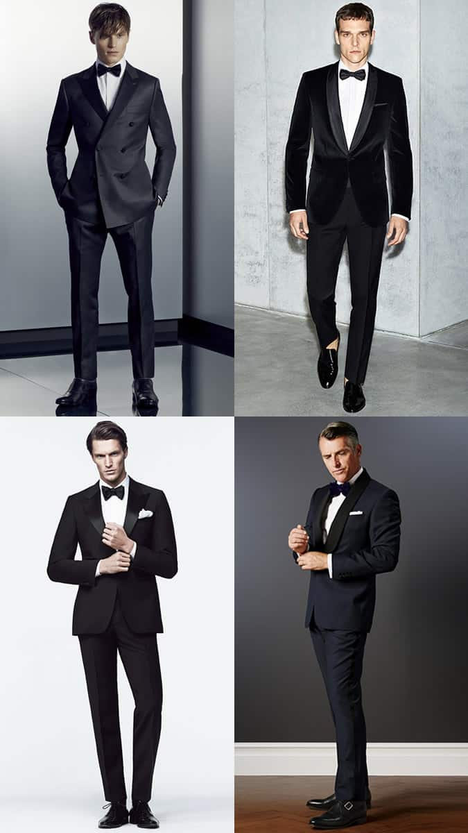 Men's Dinner Suit/Tuxedo Outfit Inspiration Lookbook
