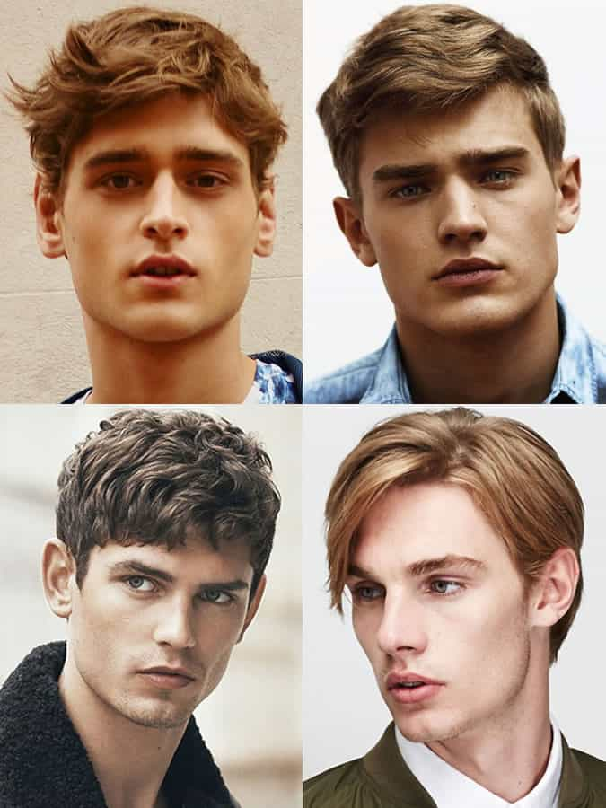 Men's hairstyles/haircuts for Diamond Face Shapes