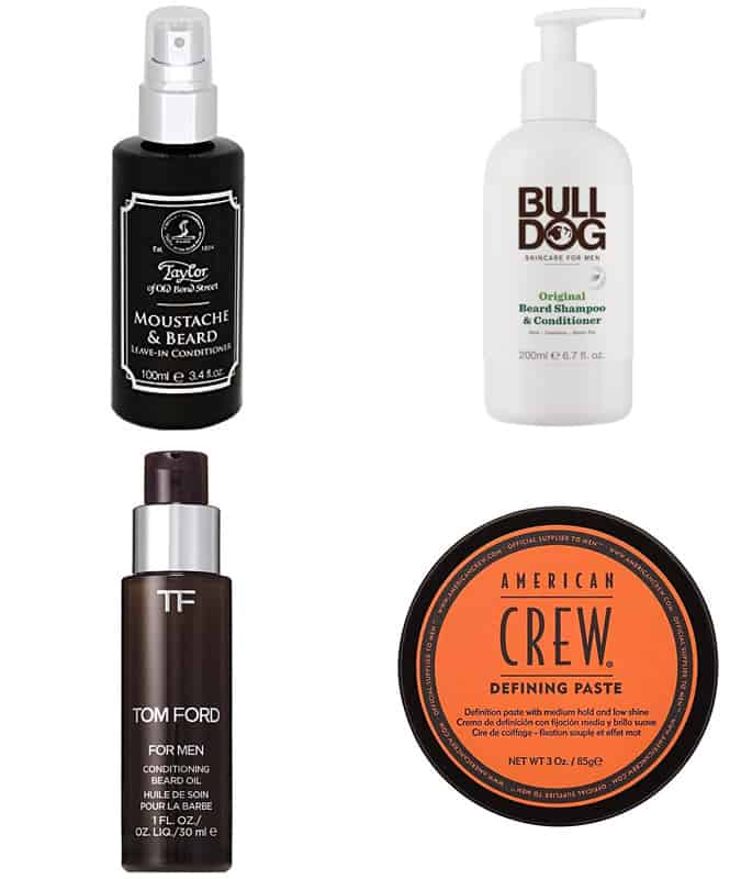 Men's Long Beard Grooming Products