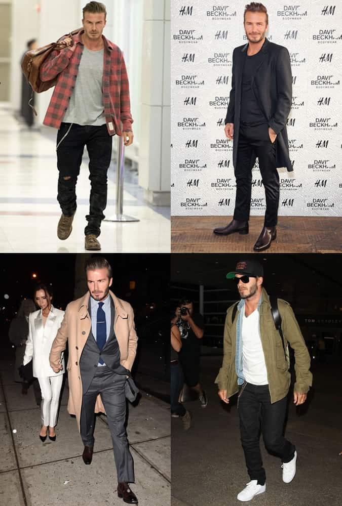 David Beckham - Style/Fashion Icon Outfits