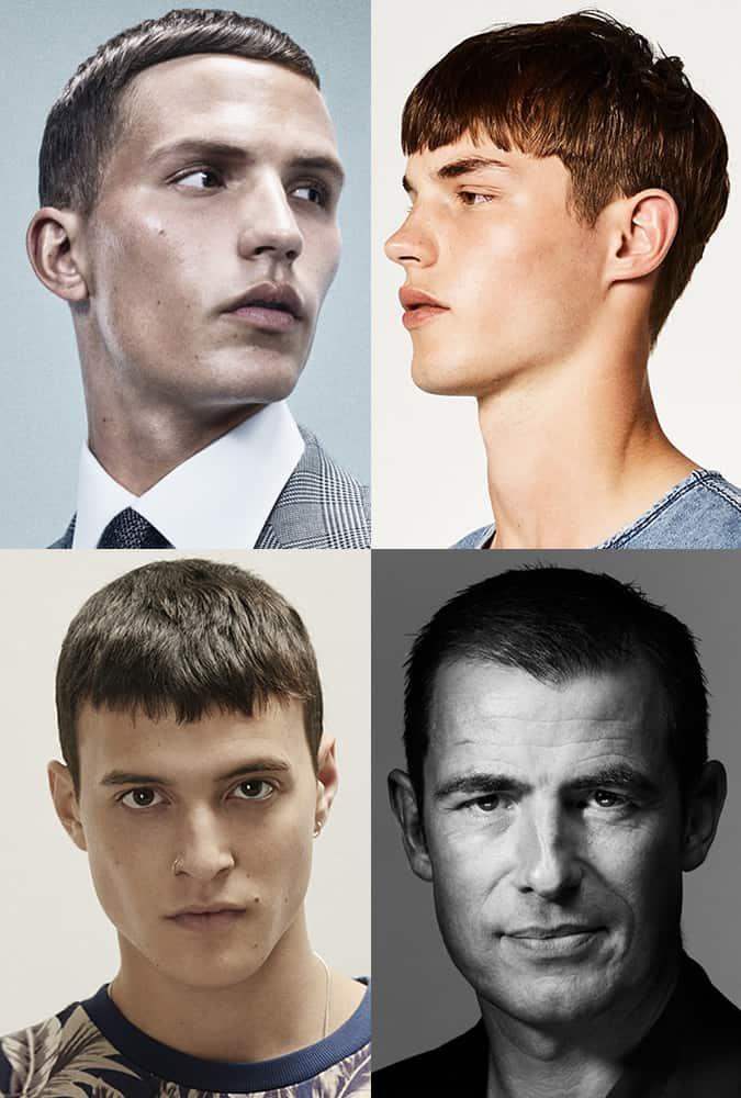 Greatest Men's Haircuts - Modern Caesar Crops
