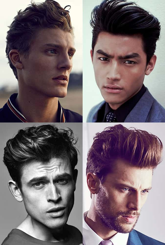 Greatest Haircuts - Modern Men's Textured Pompadours