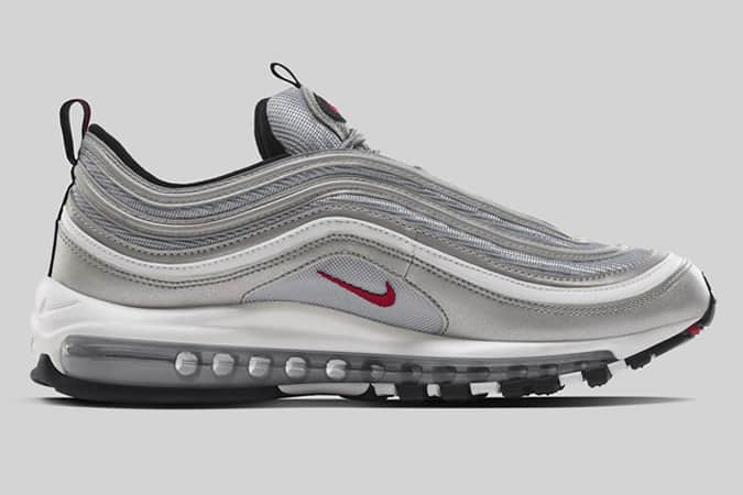 designer fashion db4f8 86f6a Nike Air Max 97 Silver