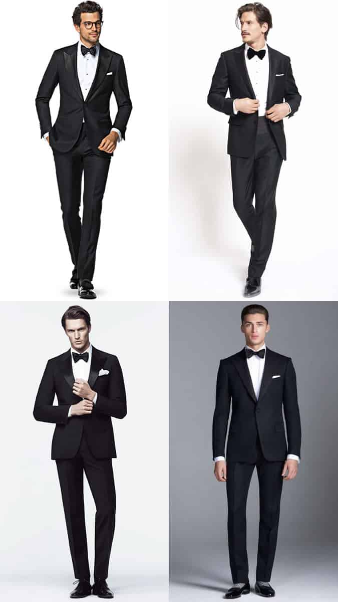 Men's NYE Black Tie Ball Outfit Inspiration Lookbook