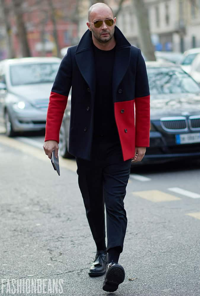 Milan Vukmirovic at Milan Fashion Week