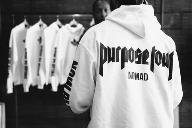 Justin Bieber, Jerry Lorenzo Purpose Merchandise