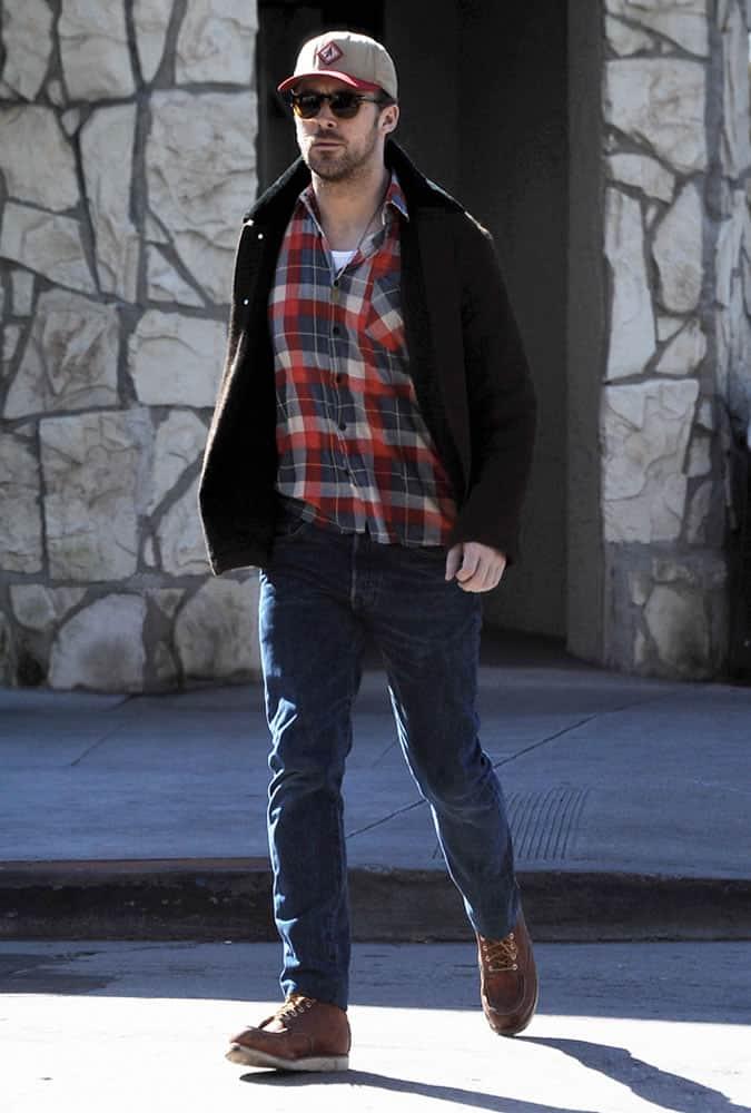 The Ryan Gosling Style Lookbook FashionBeans