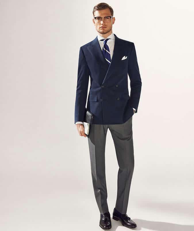 Men's Outfit Inspiration Lookbook - Tweed/Wool Blazer + Jeans