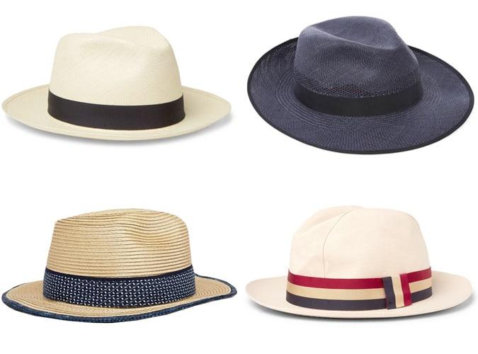 Chapeaux d'été à large bord pour homme
