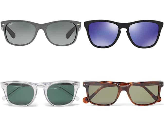 Men's Sunglasses For Long/Rectangular Face Shapes