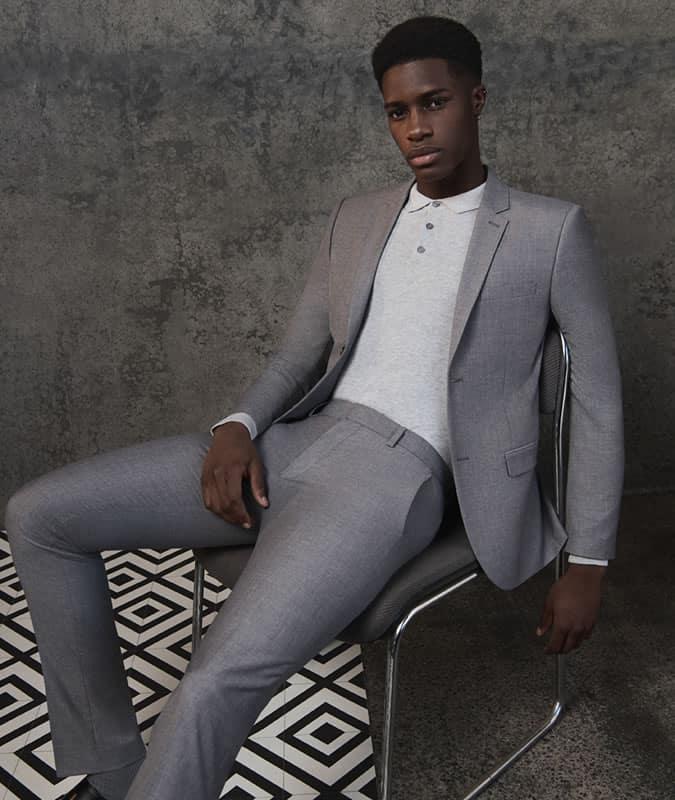 Topman Workwear Suit