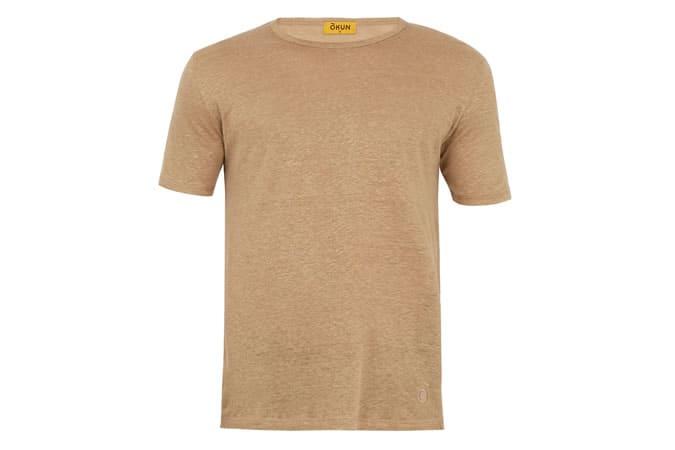 T-shirt en lin Okun Sanda