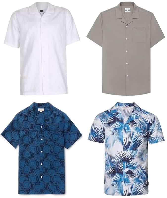 meilleures chemises à col cubain