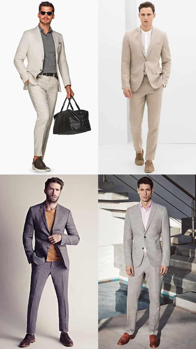 les meilleurs costumes en lin pour hommes