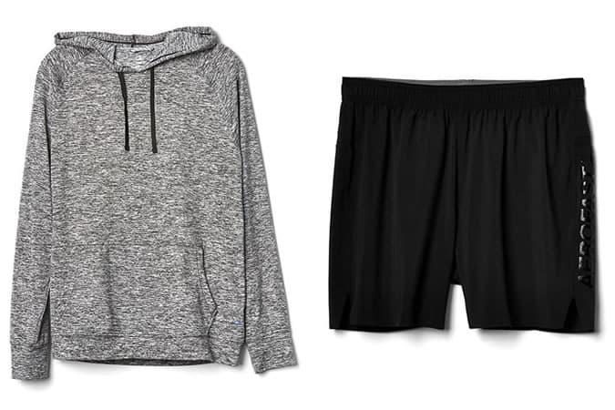 Gamme de vêtements de sport et de performance Gap Fit pour homme