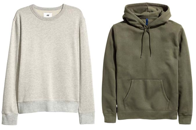 Sweatshirts basiques pour hommes - H&M