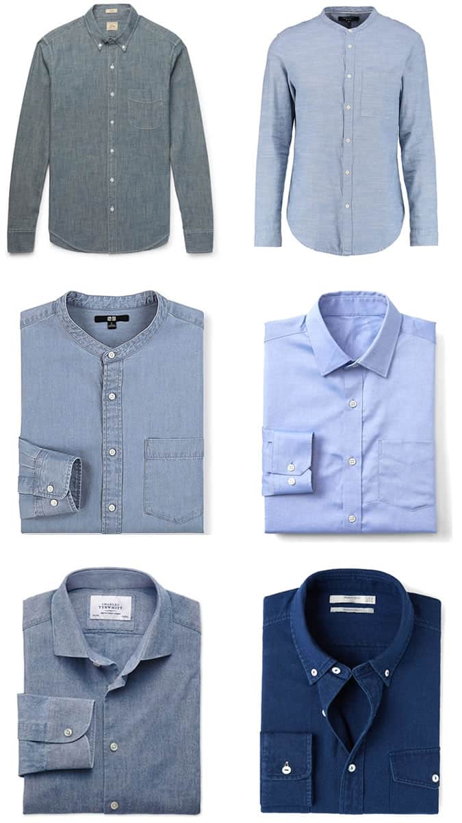the best chambray shirts for men