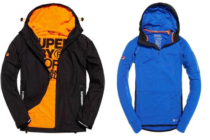 Gamme de vêtements de sport et de performance Superdry Homme